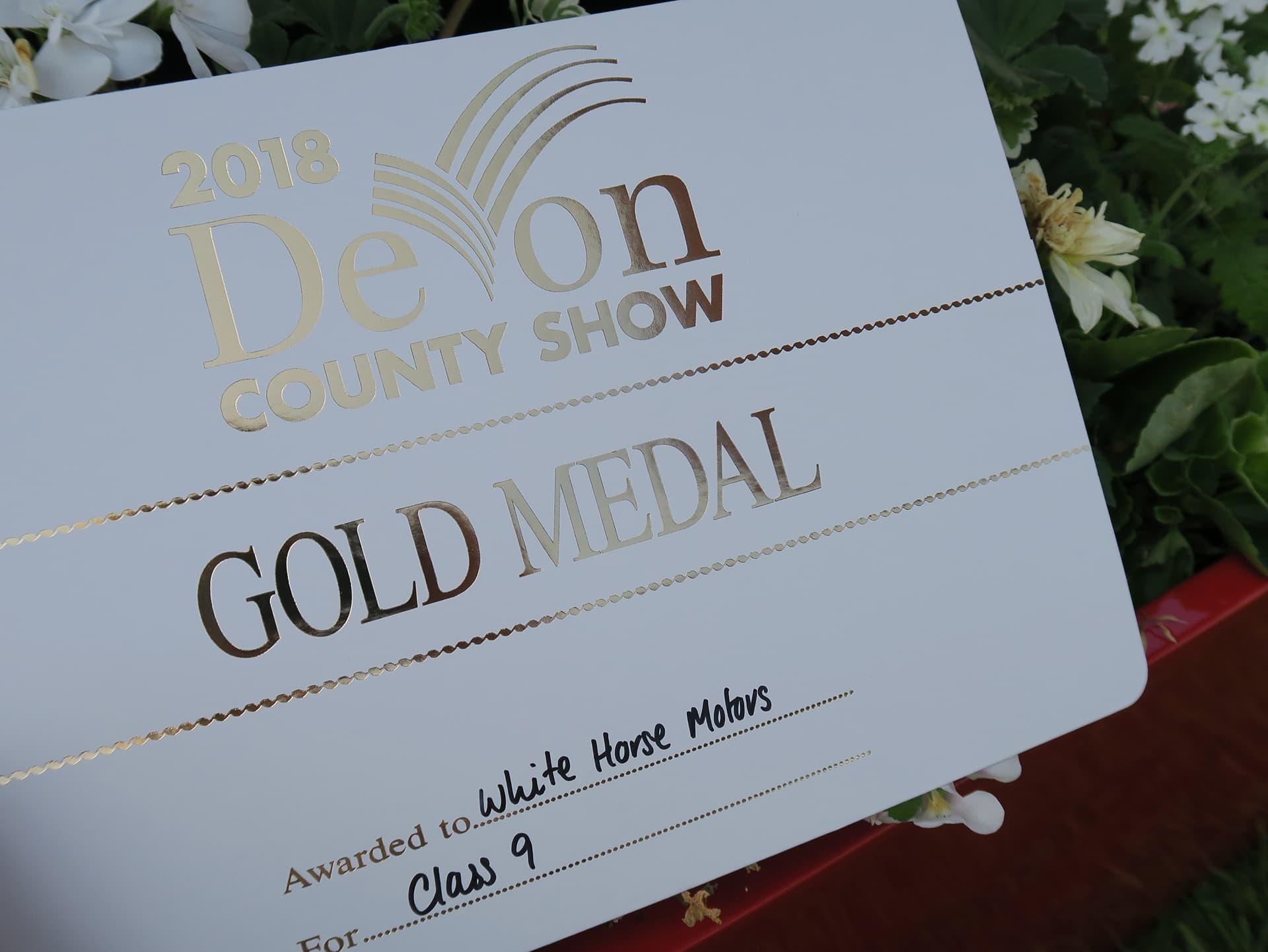 Devon County Show | White Horse Motors