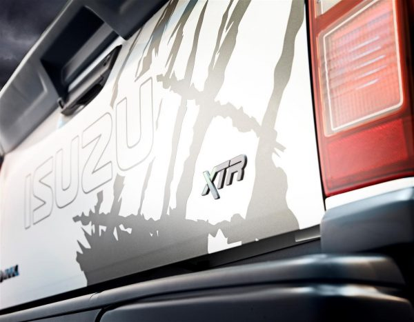 Isuzu Xtr Rear Badge | White Horse Motors